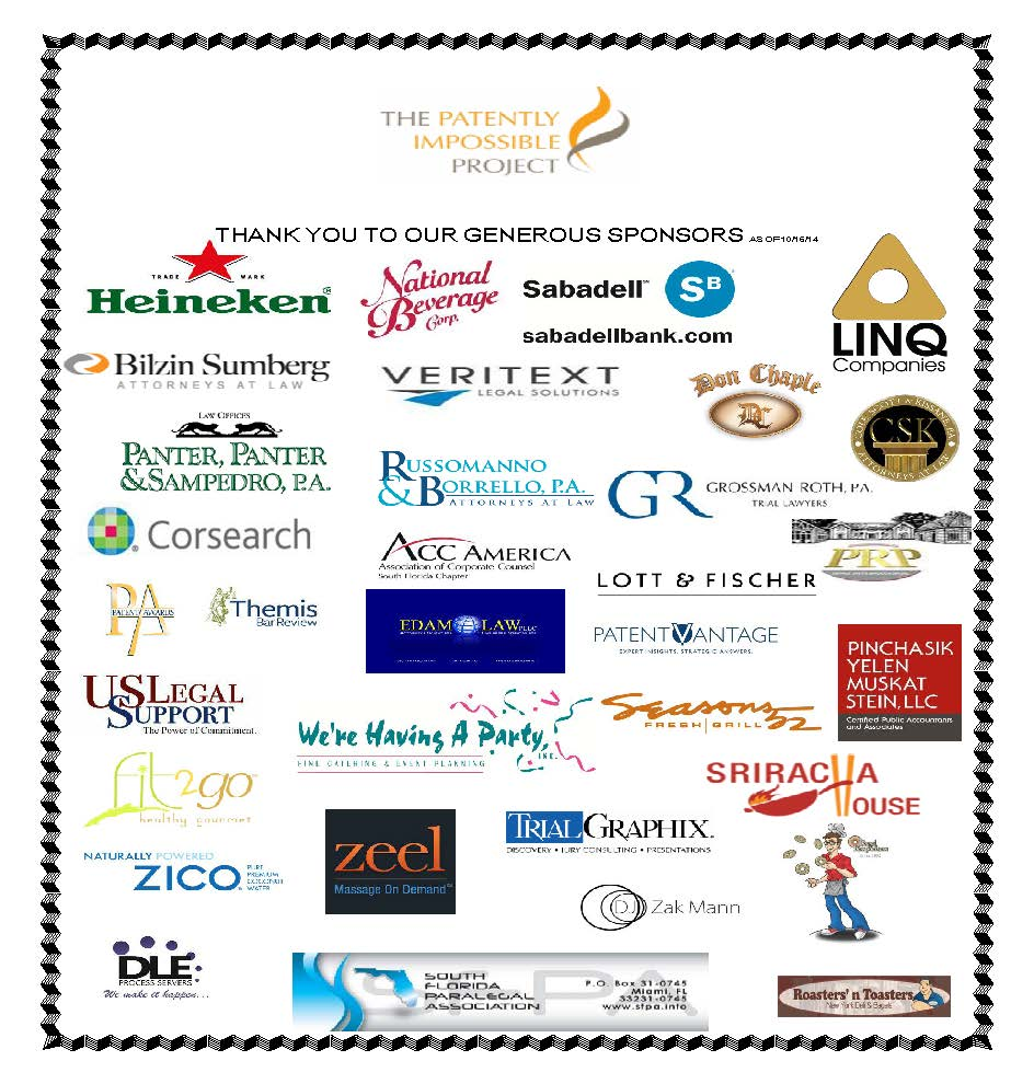 Thank you to our generous sponsors as of 10-9-14 (4)